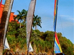 Sails at Ixtapa