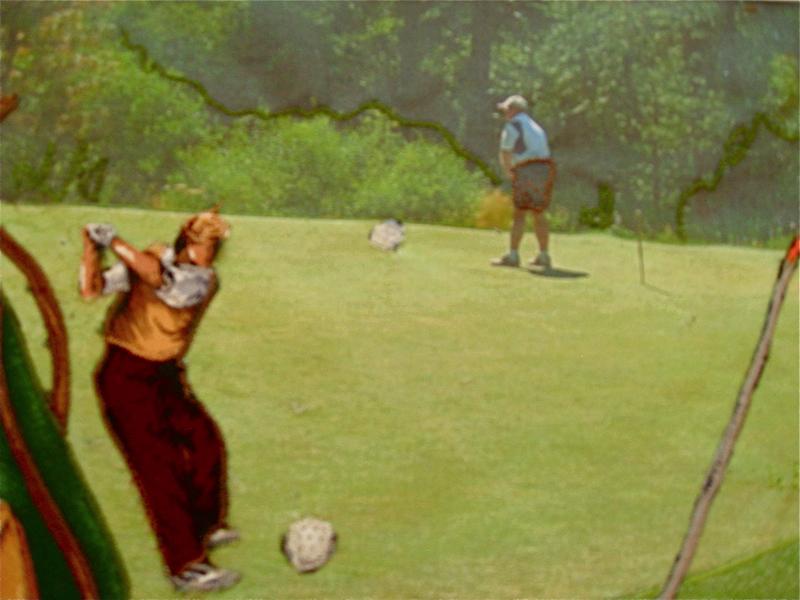 Two Golfers
